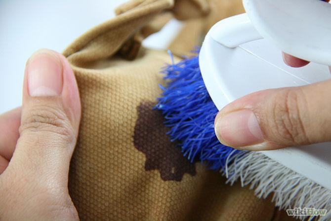 Выведение пятен с одежды народными средствами
