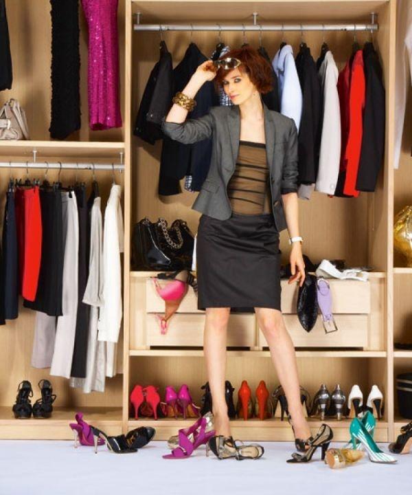 Як правильно розібрати гардероб