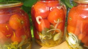 Солодкі помідори, мариновані помідори, помідори на зиму